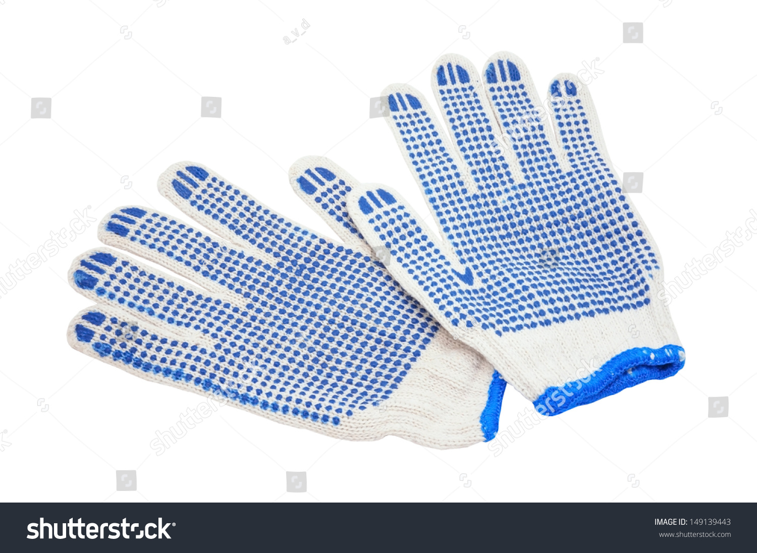 Gauntlet Gloves On White Background Stock Photo (Edit Now