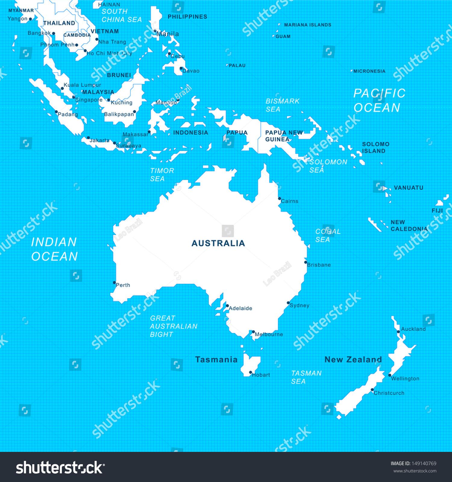 Australia South Pacific: South Asia / Australia Pacific Region