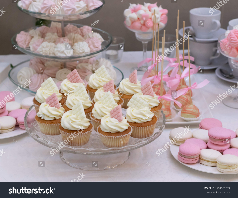 Macarons Sweet Desserts Wedding Wedding Sweet Stock Photo Edit Now 1491551753