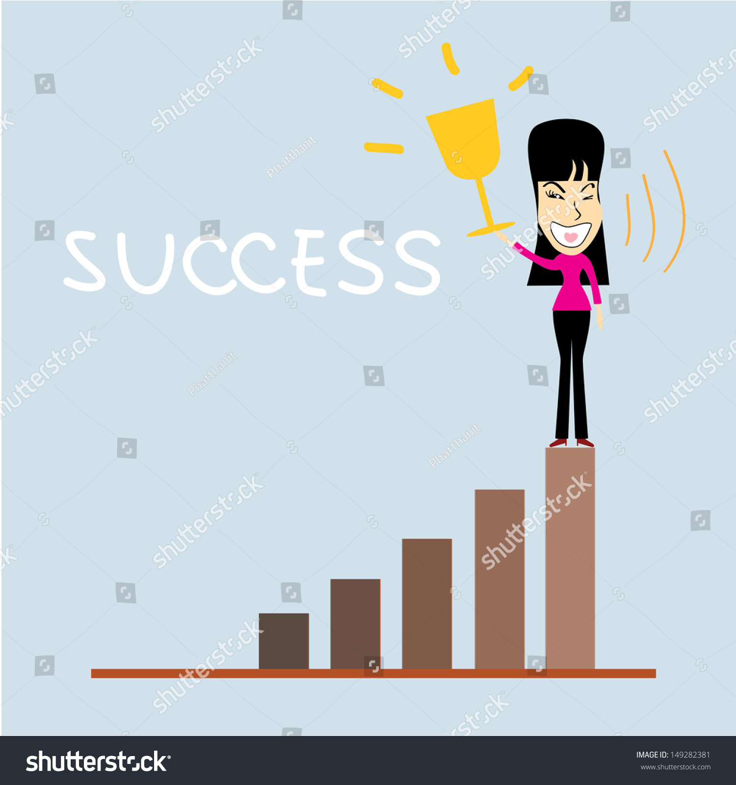 Get Success Cartoon Images