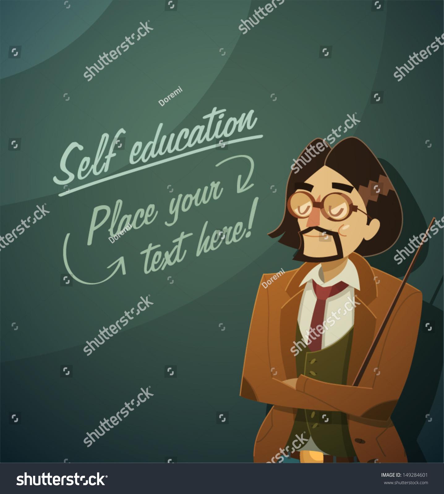 Teacher Character Vector Illustration Stock Vector 149284601 ...