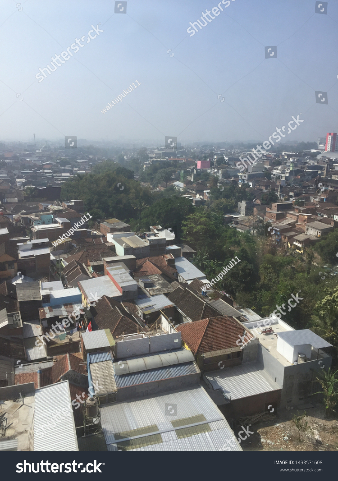 September 1 2019 Malang City Indonesia Buildings Landmarks Stock Image 1493571608