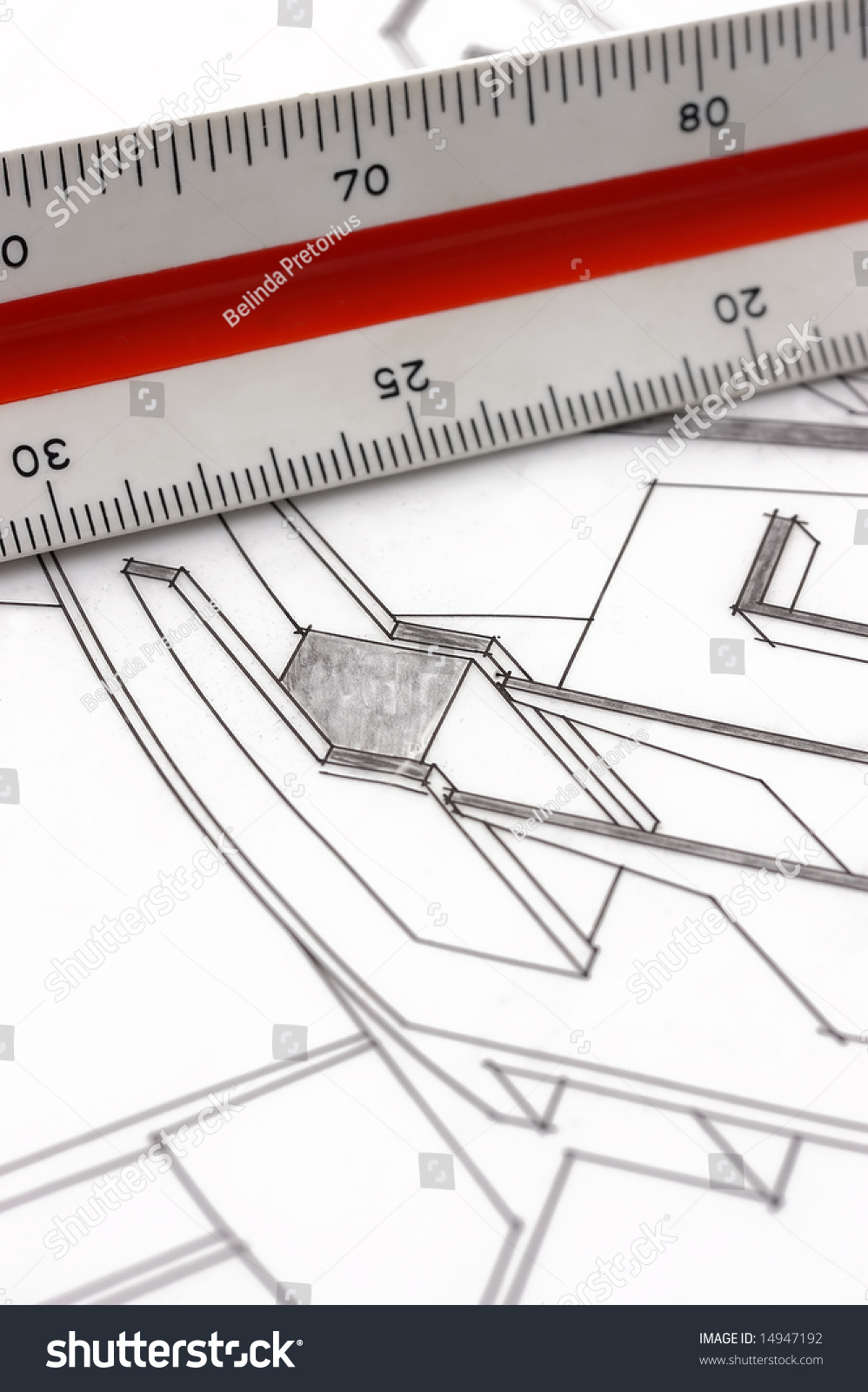 how to use a scale ruler on drawings