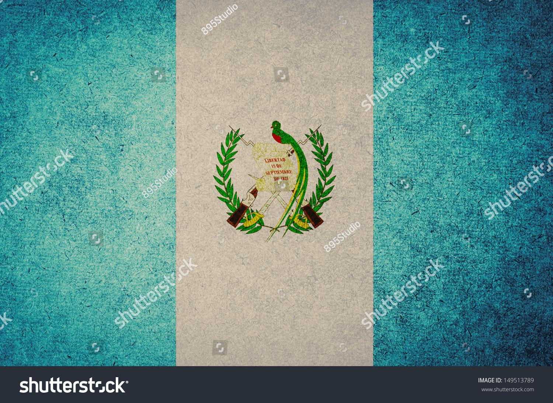 Guatemala Flag Waving, Grunge Look Stock Footage Video 2323040 ...