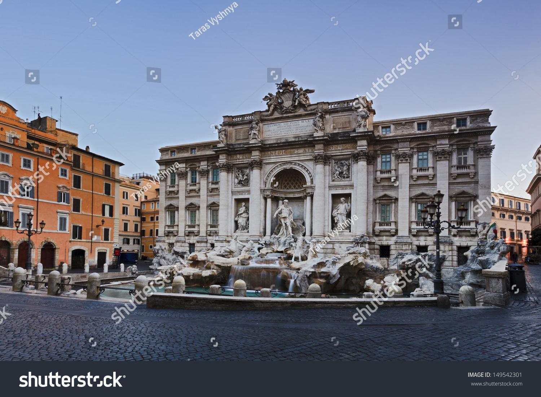 Italy Rome Capital Ancient Roman Empire Stock Photo 149542301