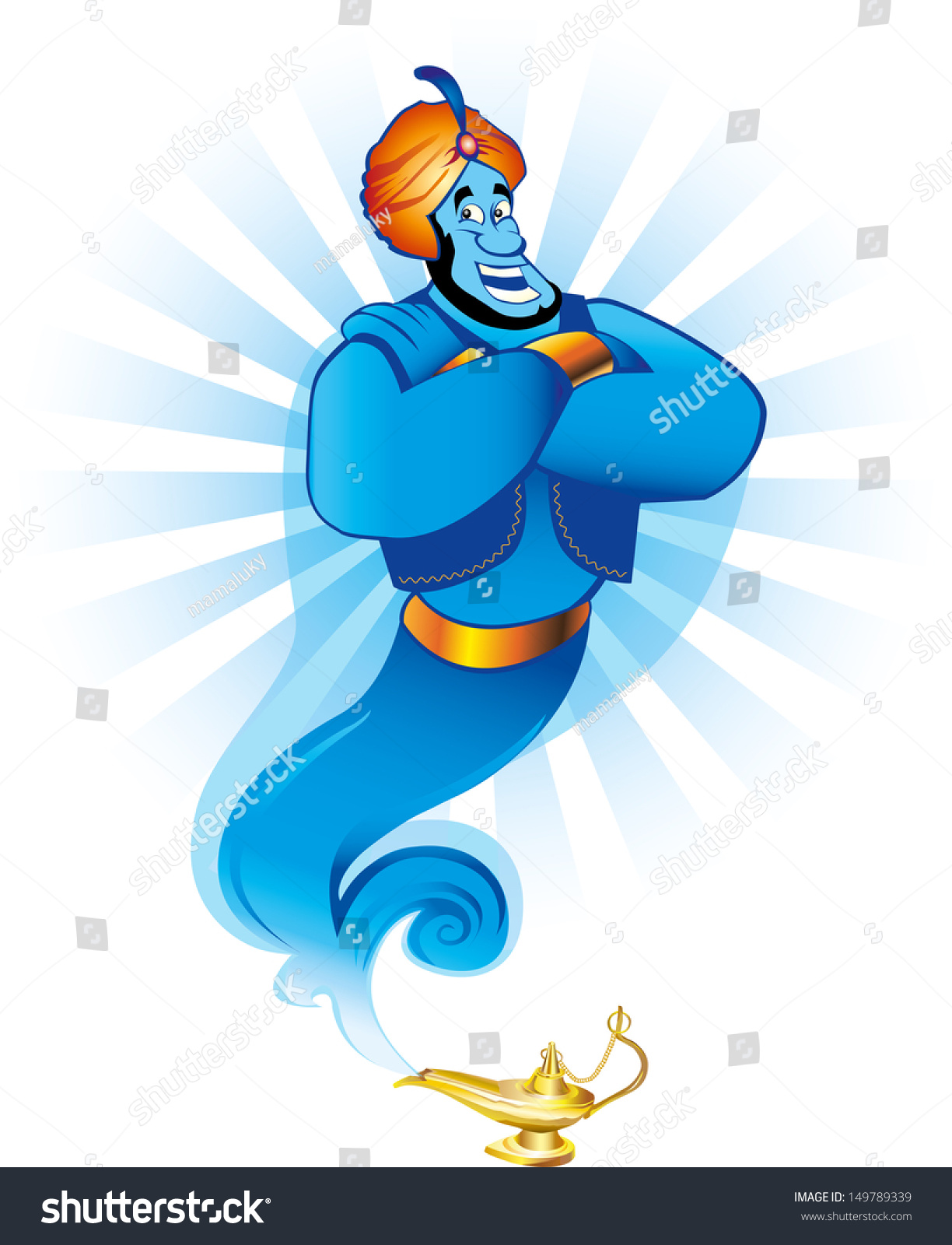 Genie Grants 3 Wishes