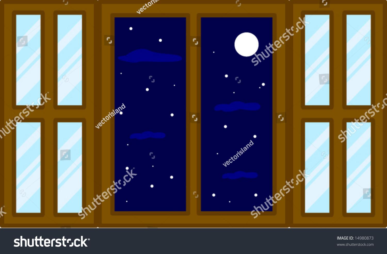 Open window at night - Open Window At Night