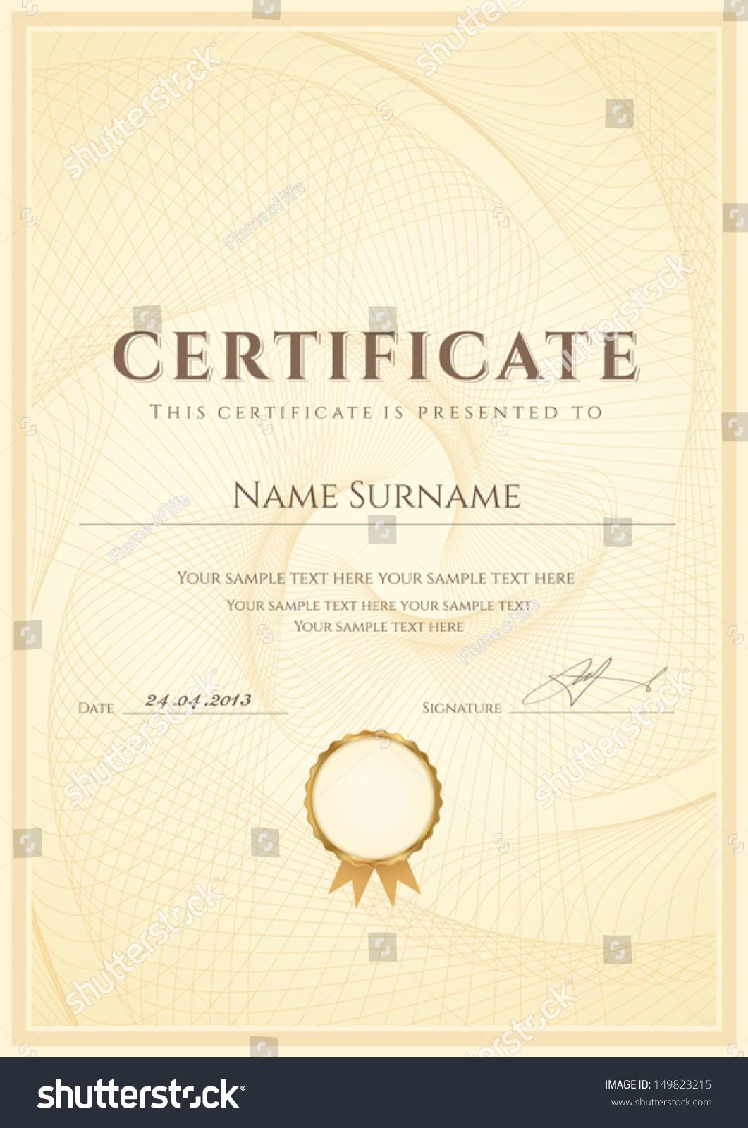 certificate of degree templates - certificate diploma completion design template background