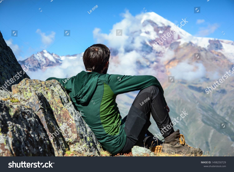 Wonderful views from Kuro mountain to Mkinvartsveri and Kazbegi region. Gorgeous and amazing nature with colorful people