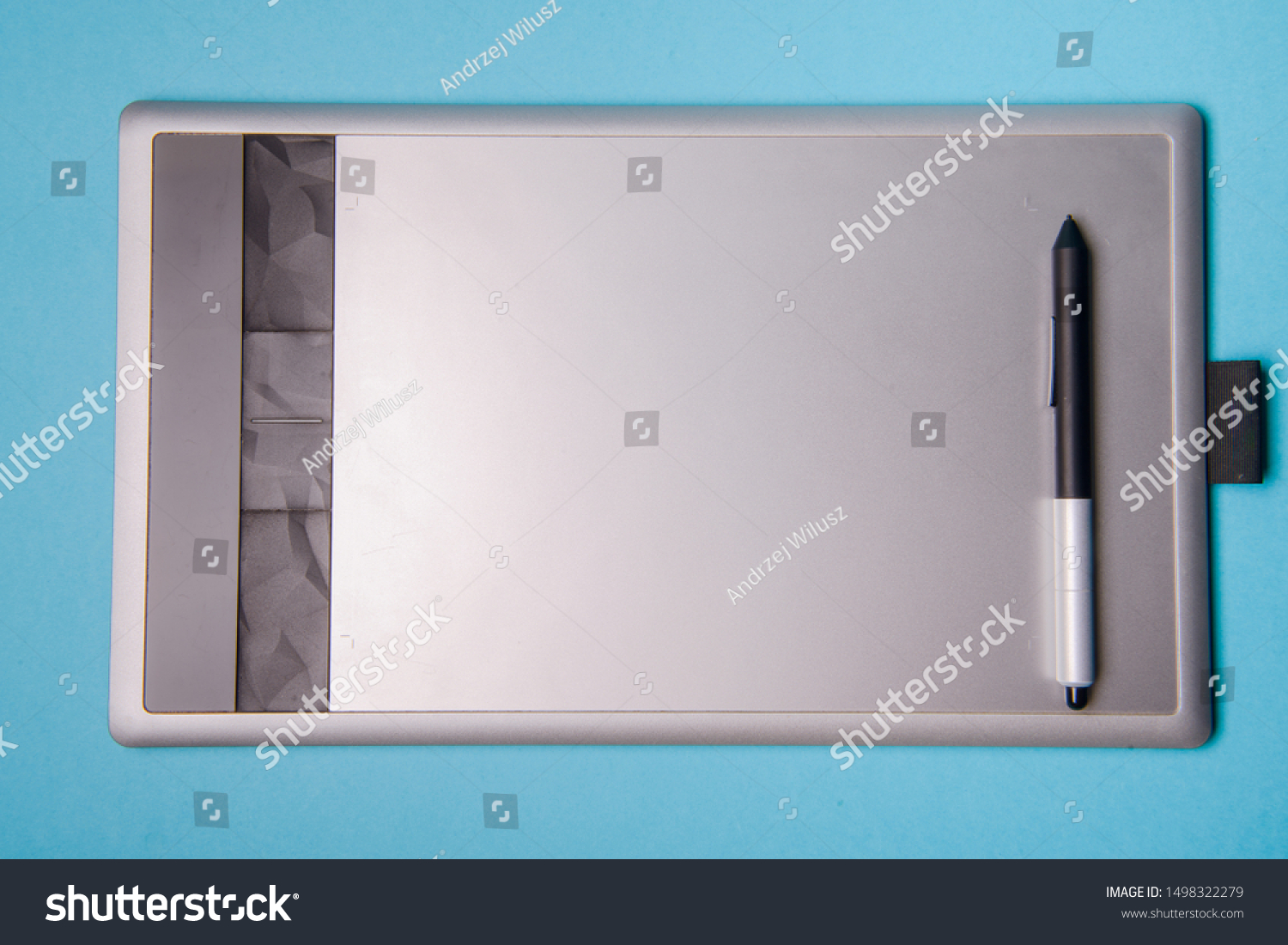 Graphic tablet with pen for illustrators and designers #1498322279