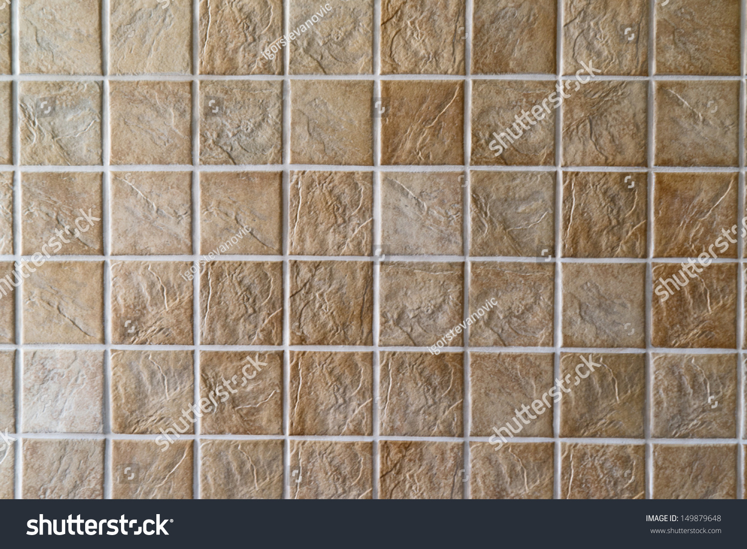 Beige square shaped ceramic tiles wall stock photo 149879648 beige square shaped ceramic tiles for wall or floor covering dailygadgetfo Image collections