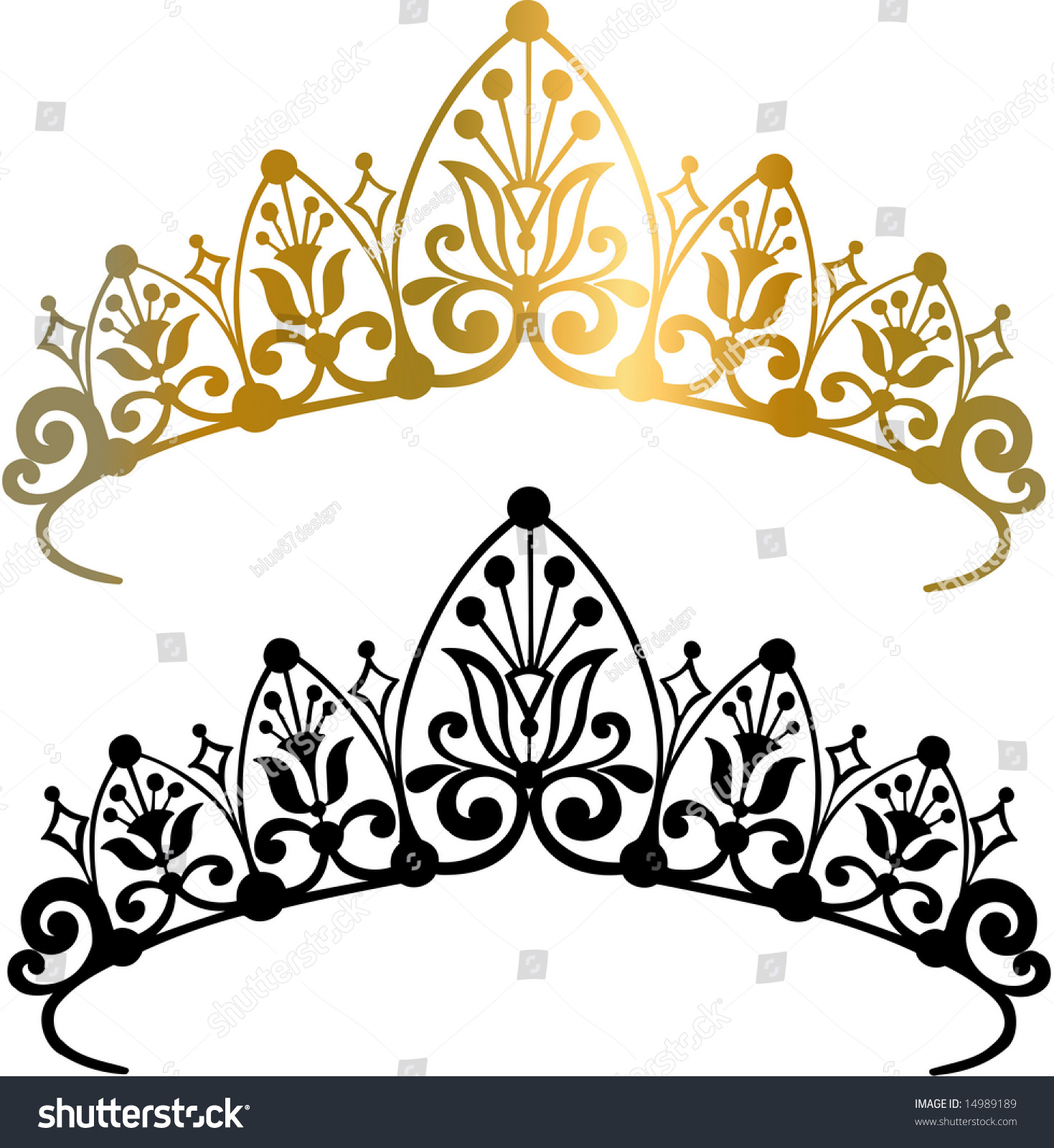 free vector tiara clip art - photo #49