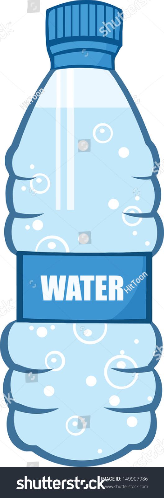 Cartoon Water Bottle Stock Vector 149907986 - Shutterstock