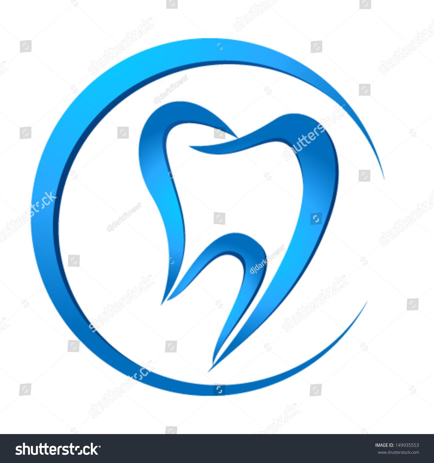 Dental Symbol Stock Vector 149935553 - Shutterstock