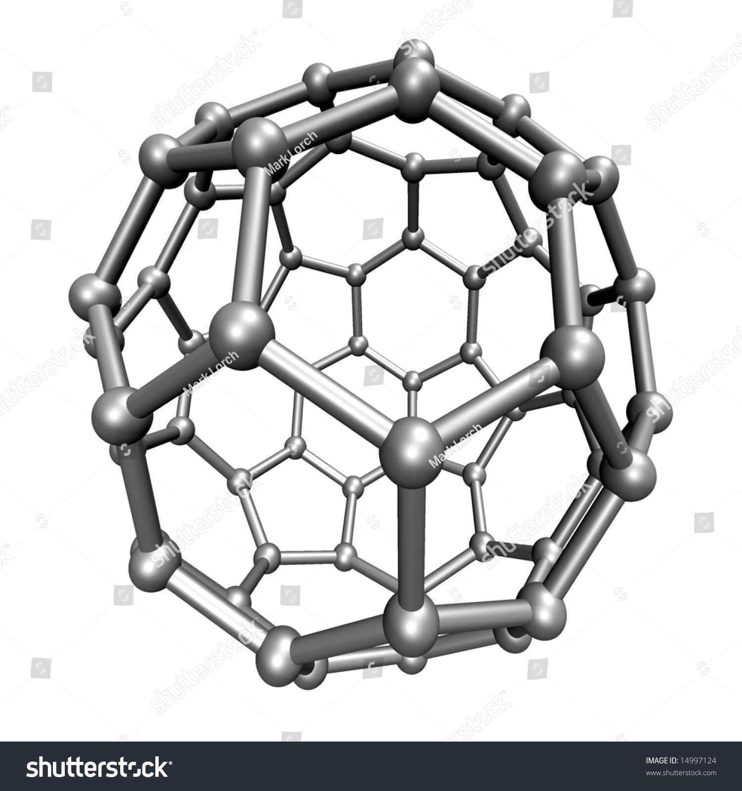 Buckminsterfullerene Flat
