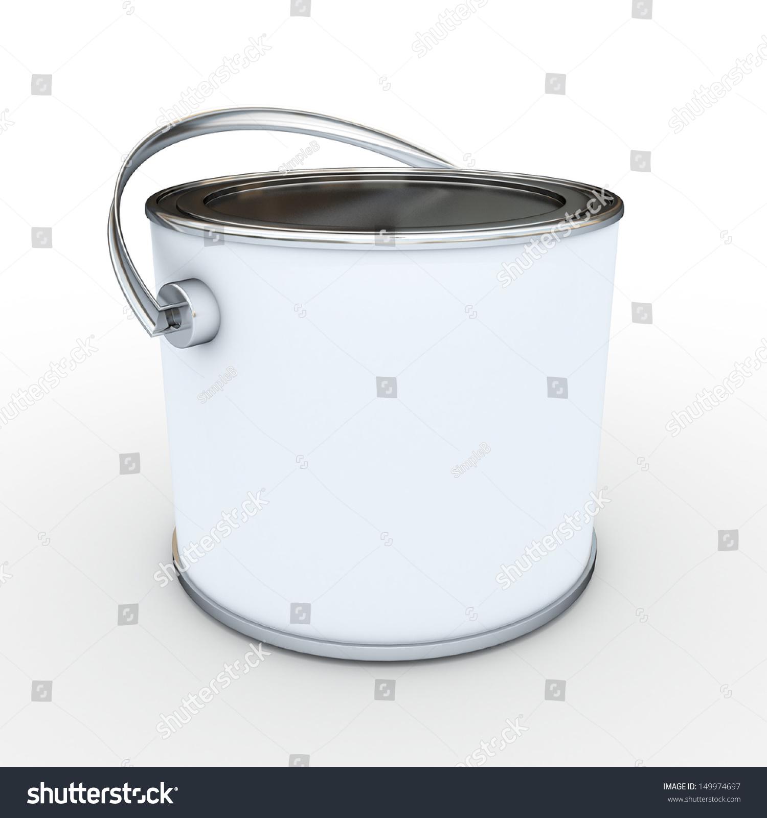 3d Blank White Tub Paint 28 Images Plastic Bucket