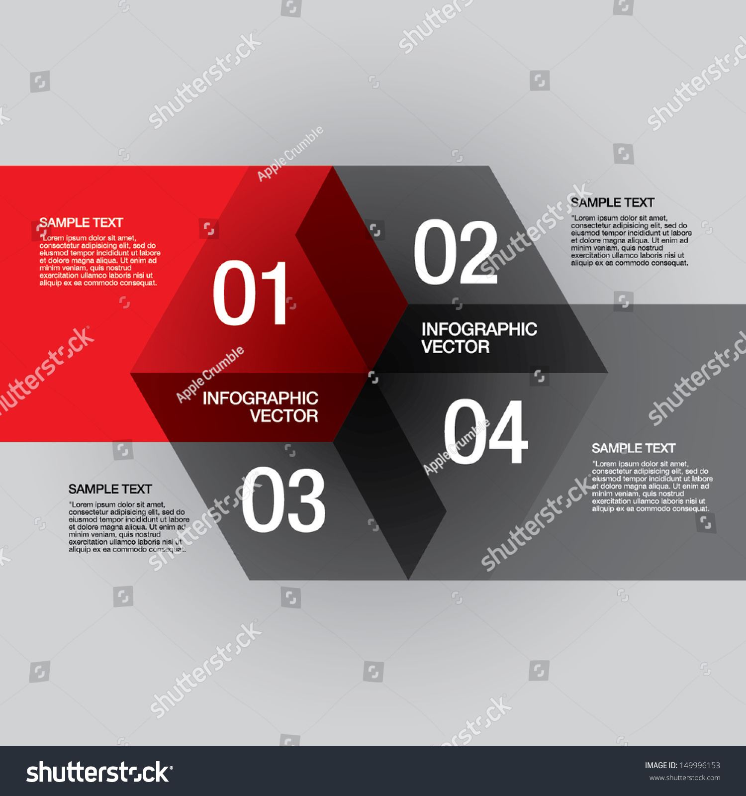 royalty-free vector presentation design template. #149996153 stock, Powerpoint templates