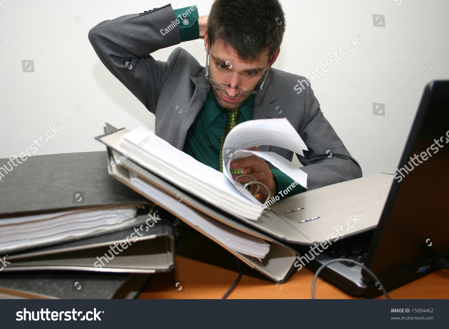 much work stock photo shutterstock too much work