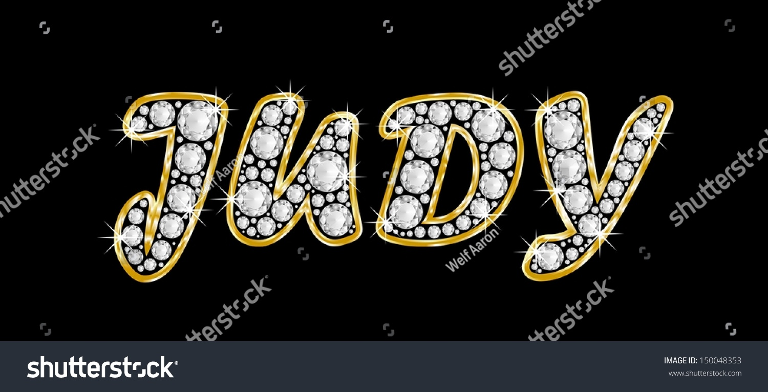 Alphabet with diamonds stock image Image of characters