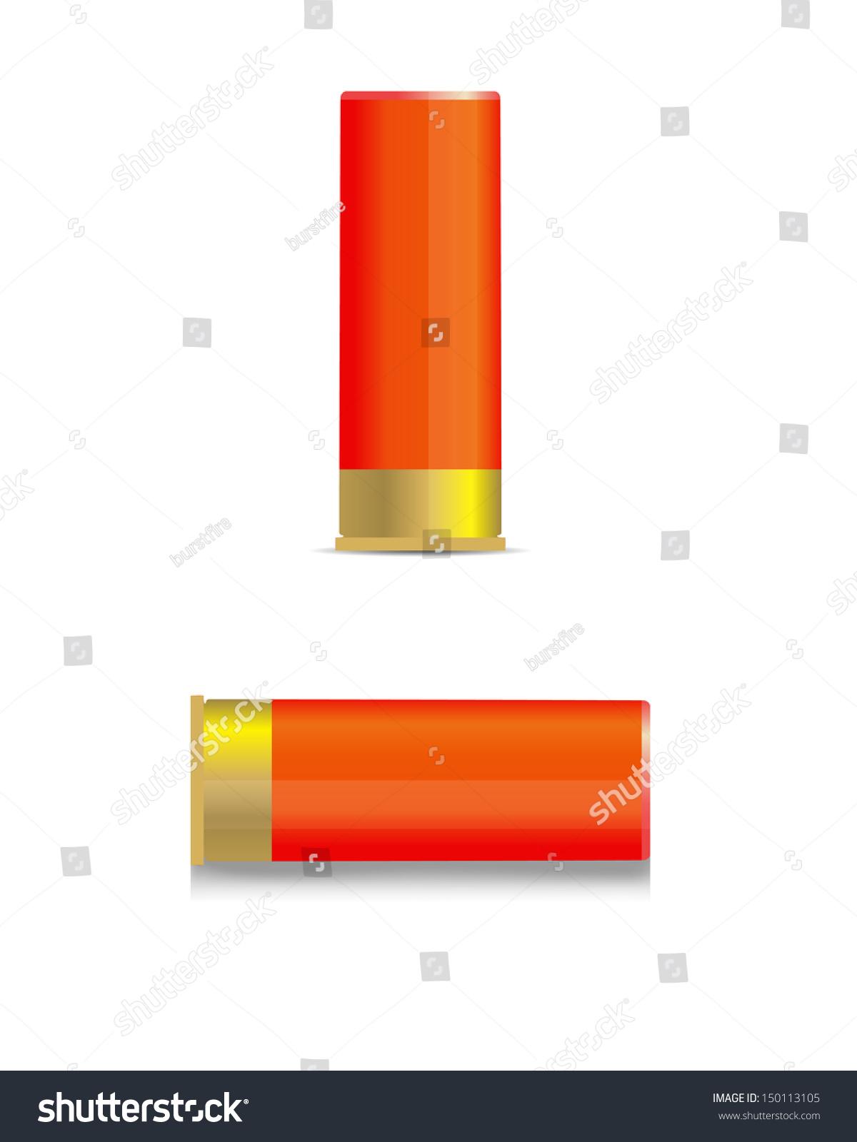 Shotgun Shell Jpeg Version Stock Illustration 150113105 Shutterstock Diagram