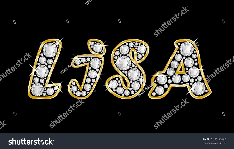 Lisa Name Tattoo Designs