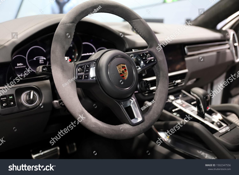 Germany Frankfurt 10september 2019 Porsche Cayenne Stock Photo Edit Now 1502347556