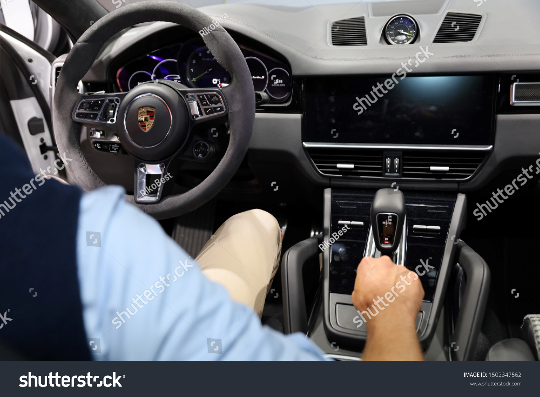 Germany Frankfurt 10september 2019 Porsche Cayenne Stock Photo Edit Now 1502347562