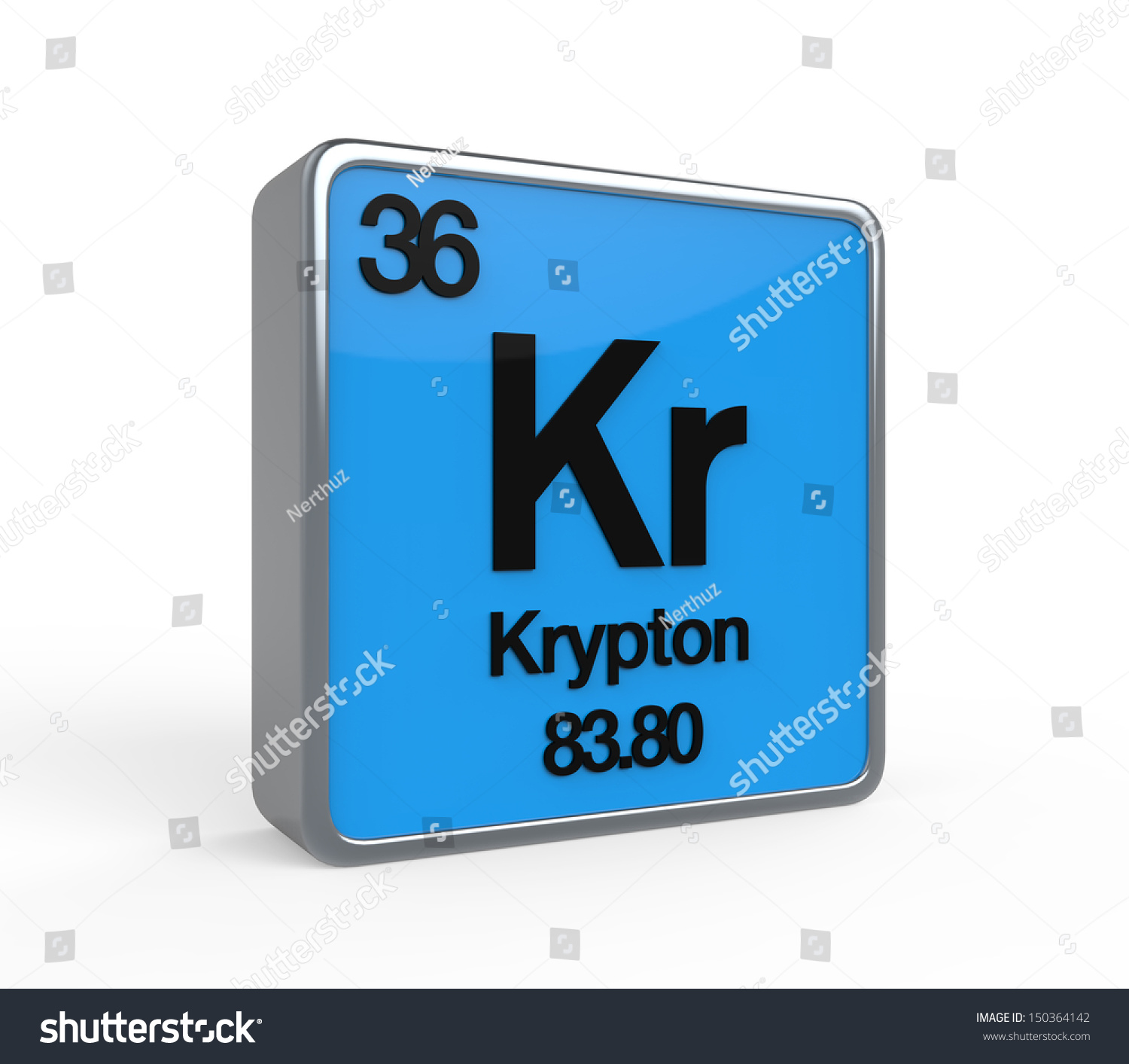 Krypton element periodic table stock illustration 150364142 krypton element periodic table buycottarizona