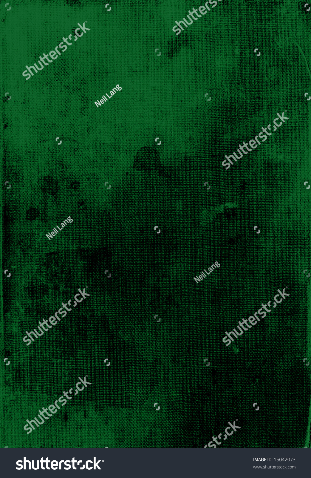 Green Book Cover Background : Dark green leather book cover background texture with spot