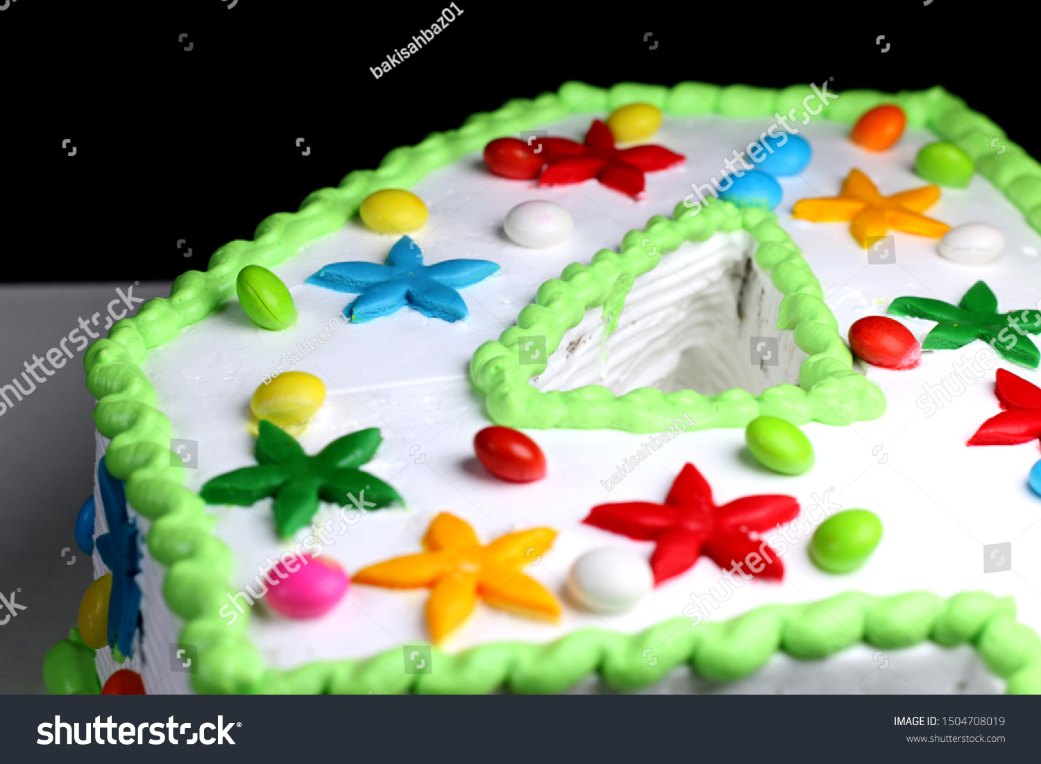 Swell 4 Years Old Colorful Sweet Birthday Stock Photo Edit Now 1504708019 Personalised Birthday Cards Veneteletsinfo