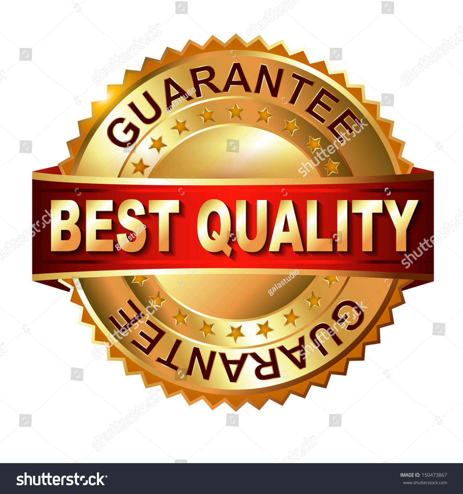 Best Quality Guarantee Golden Label Ribbon Stock