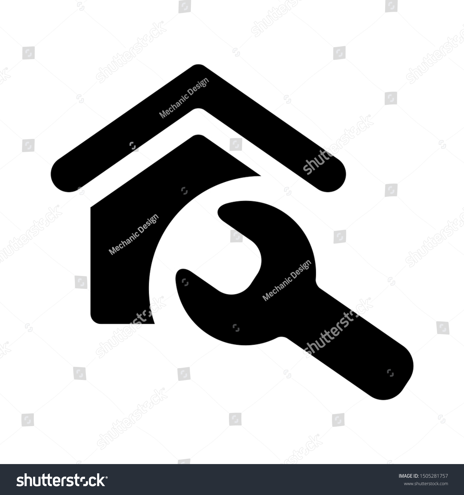 maintenance house icon - From property, commercial house and real estate icons, mortgage icons