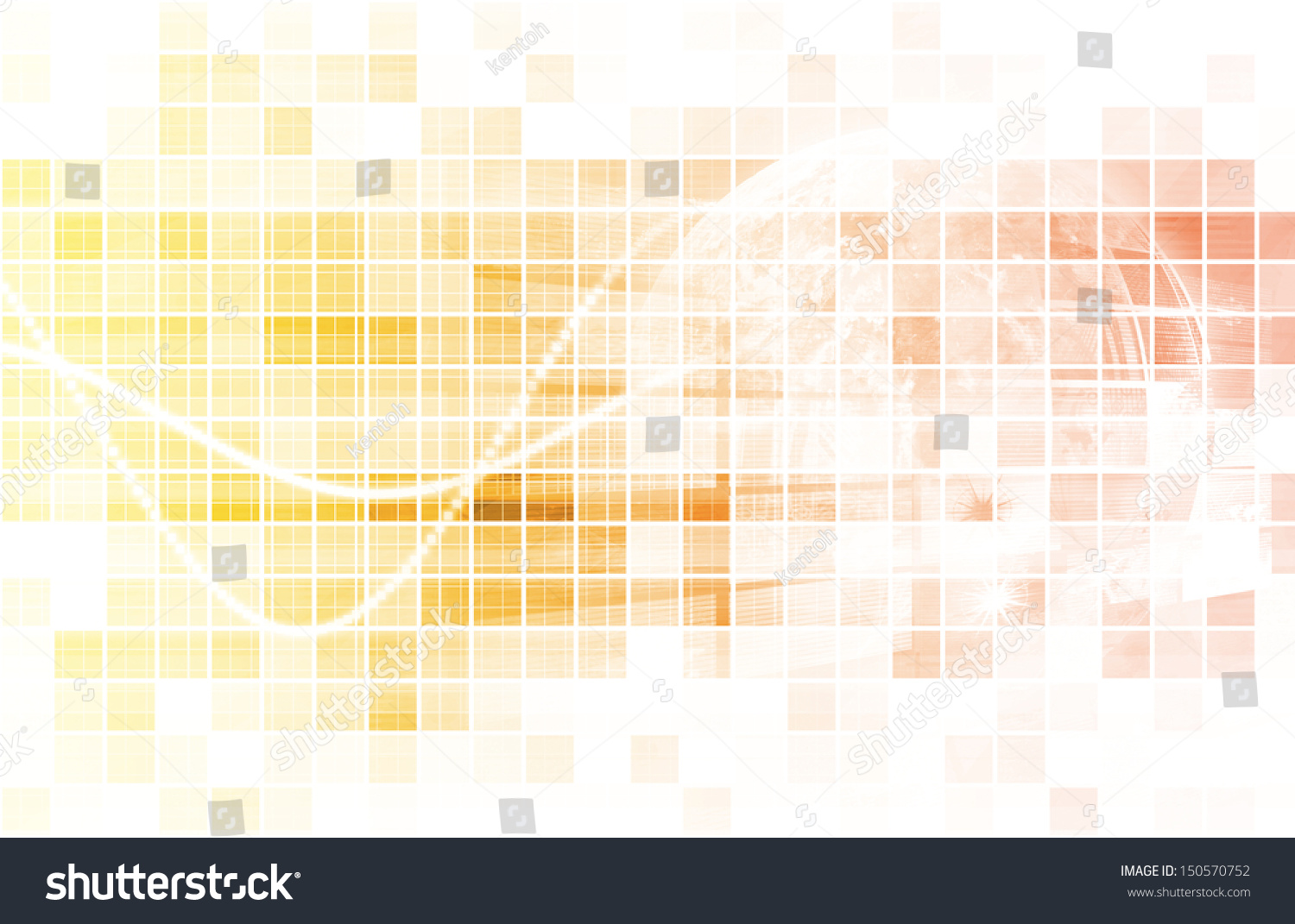 Multimedia Technology Background As A Art Concept Stock ...
