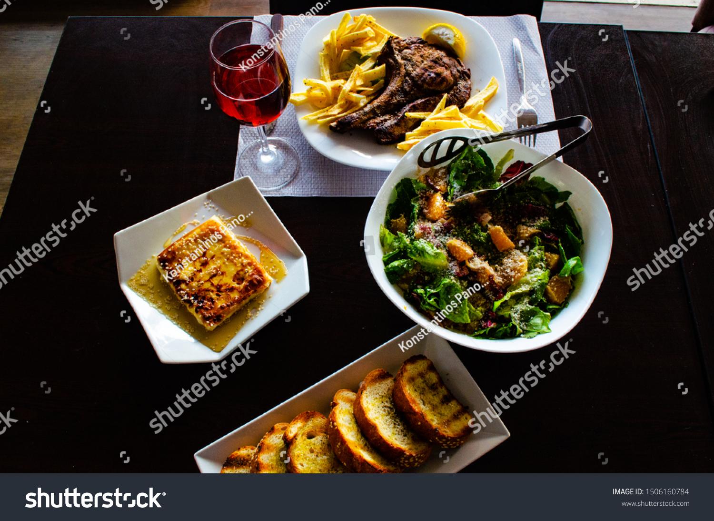 Food Photography Taste Wine Restaurant Loutraki Stock Photo Edit Now 1506160784