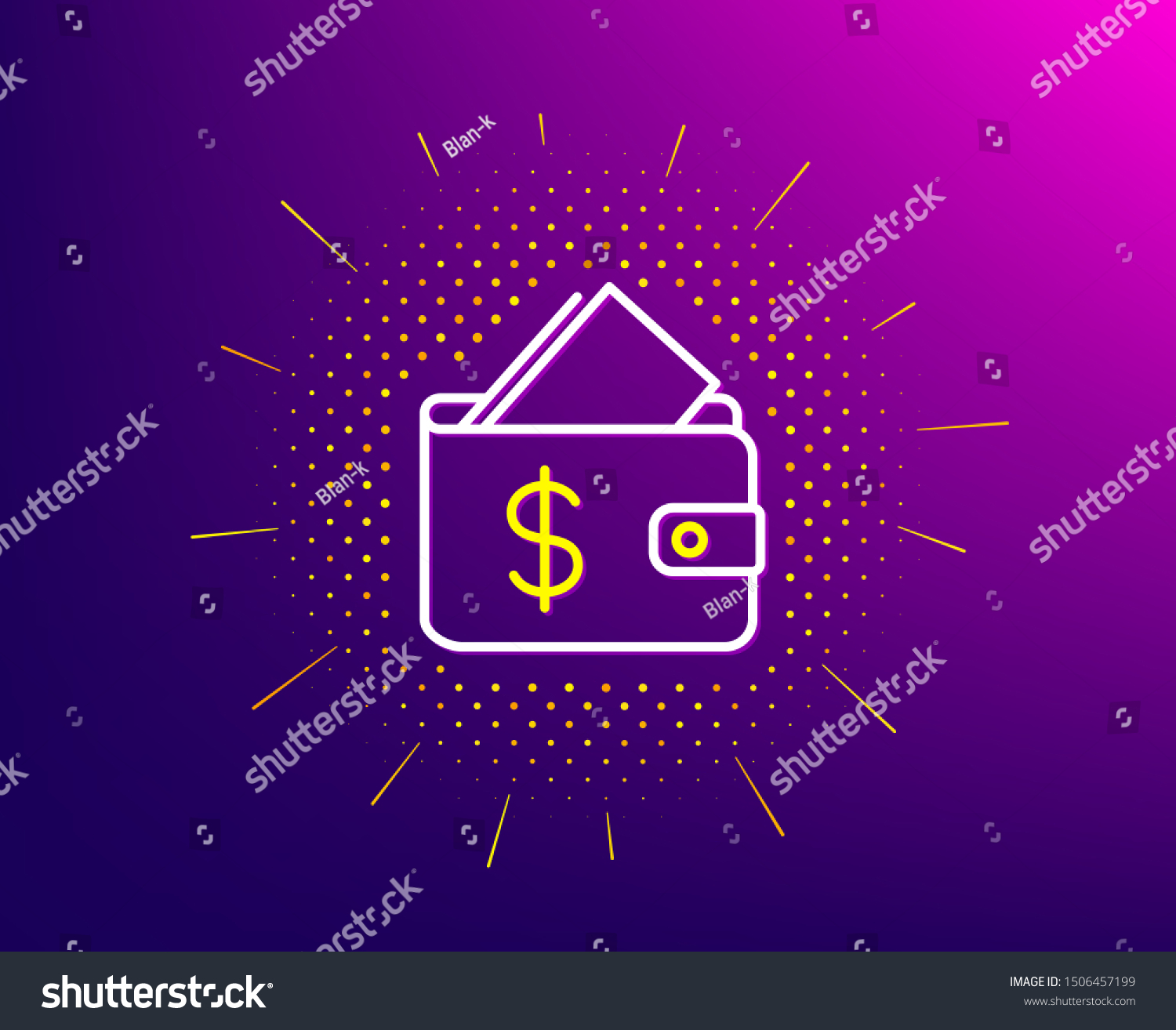 wallet line icon halftone pattern affordability stock vector royalty free 1506457199 https www shutterstock com image vector wallet line icon halftone pattern affordability 1506457199