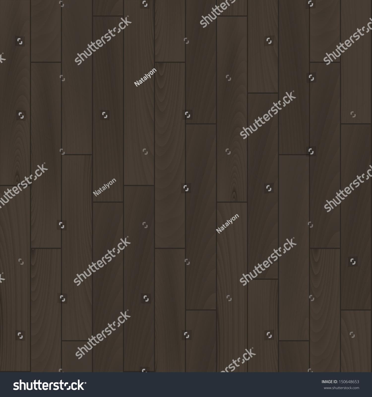 realistic dark grey wooden floor seamless pattern vector