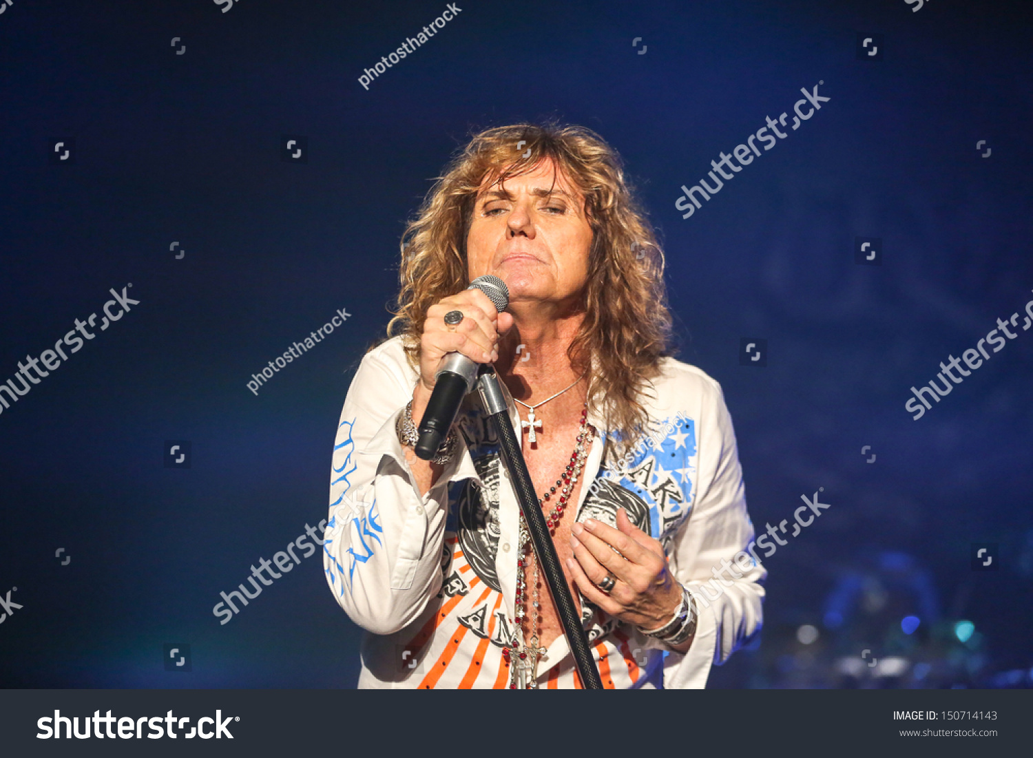 Whitesnake Lead Singer Raleigh Nc July 31 Lead Singer David Coverdale And The Classic