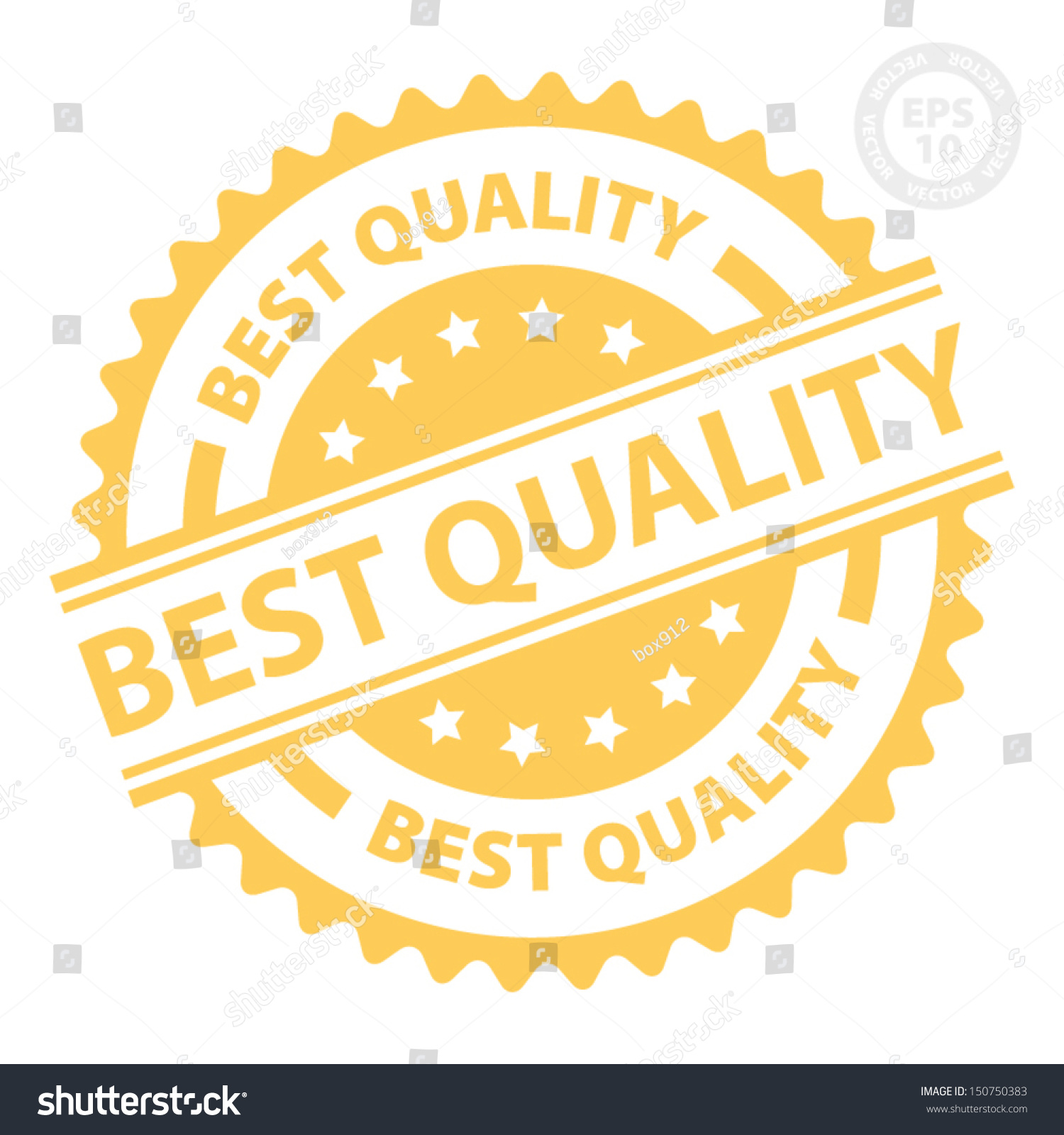 eps10 vector best quality rubber stamp with orange color