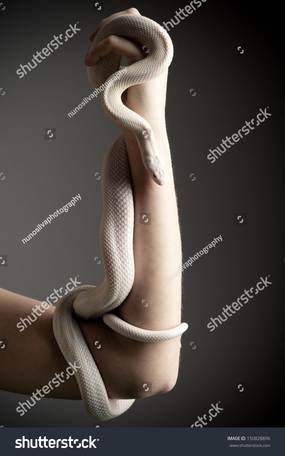 white snake woman