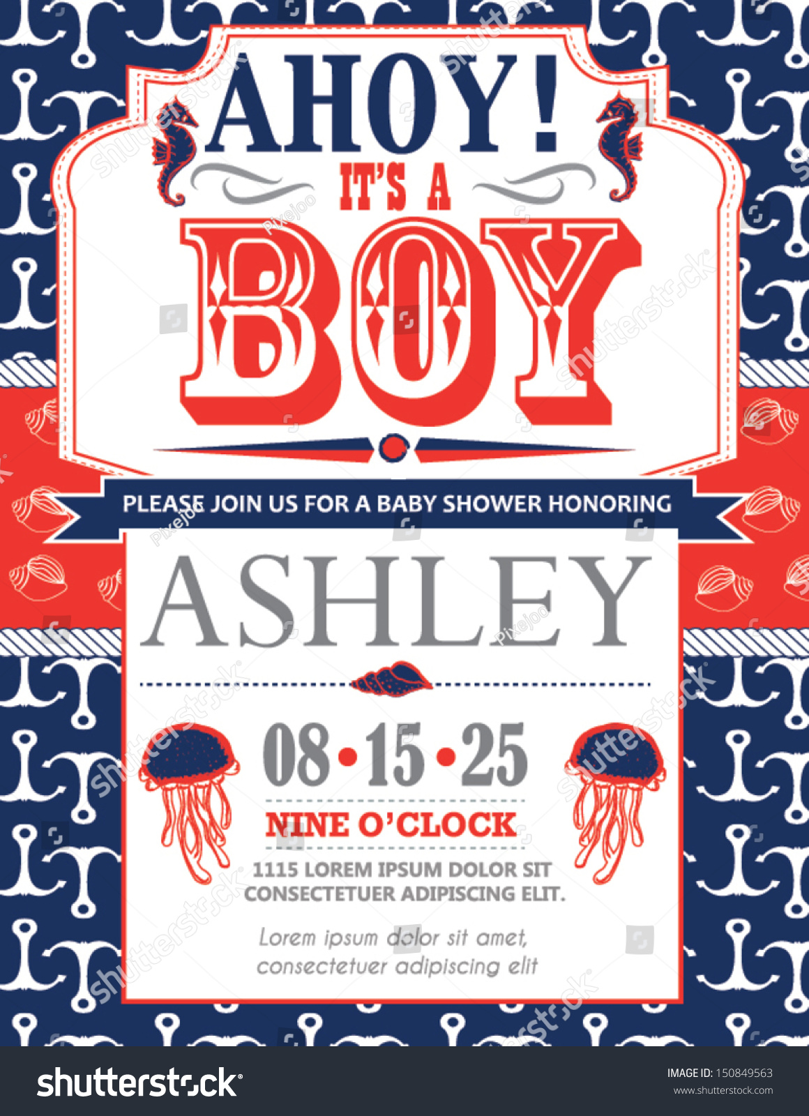 Nautical Baby Shower Invitations – gangcraft.net
