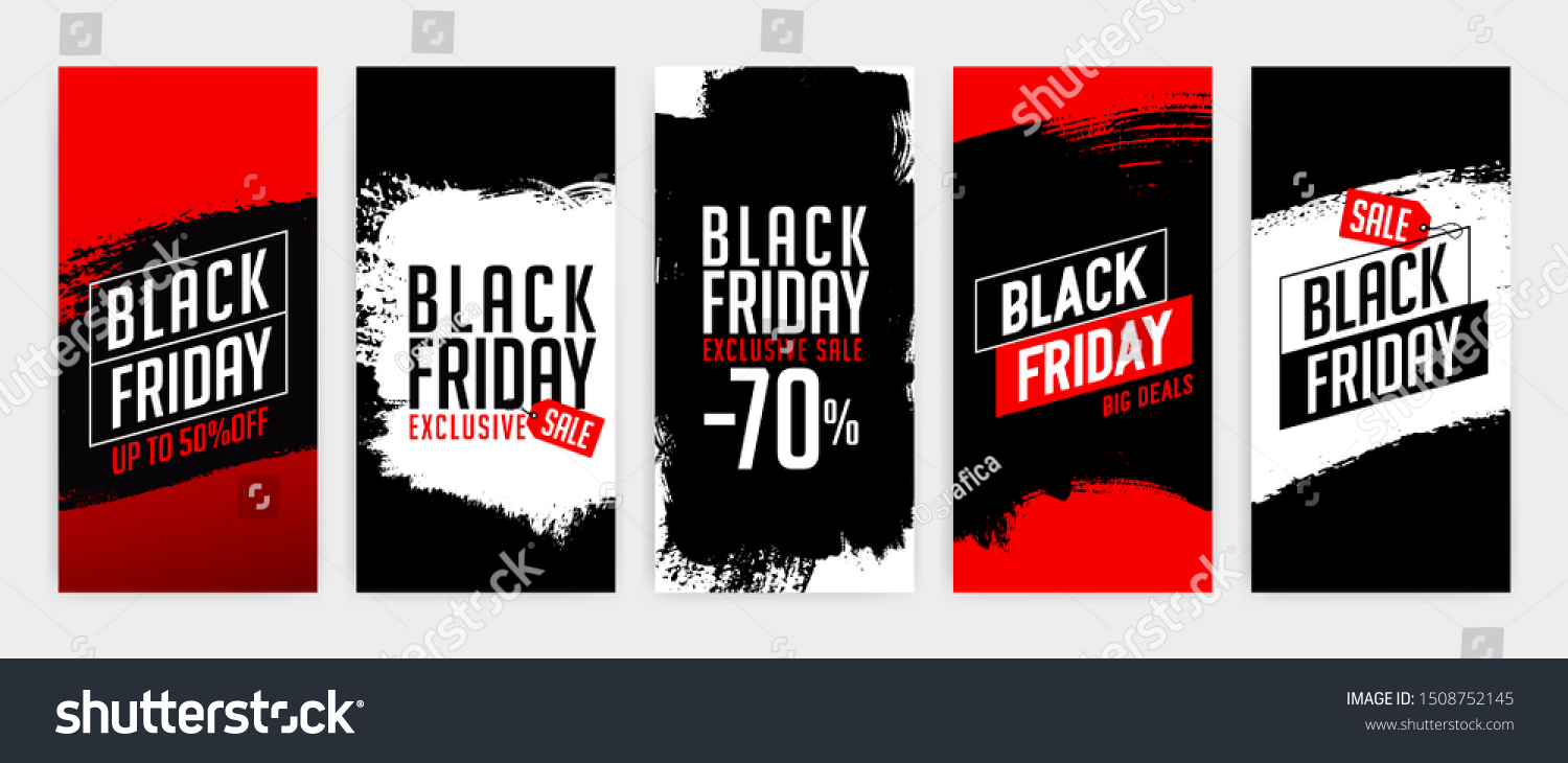 Banner Templates Black Friday Promotion Banner Stock Vector Royalty Free 1508752145
