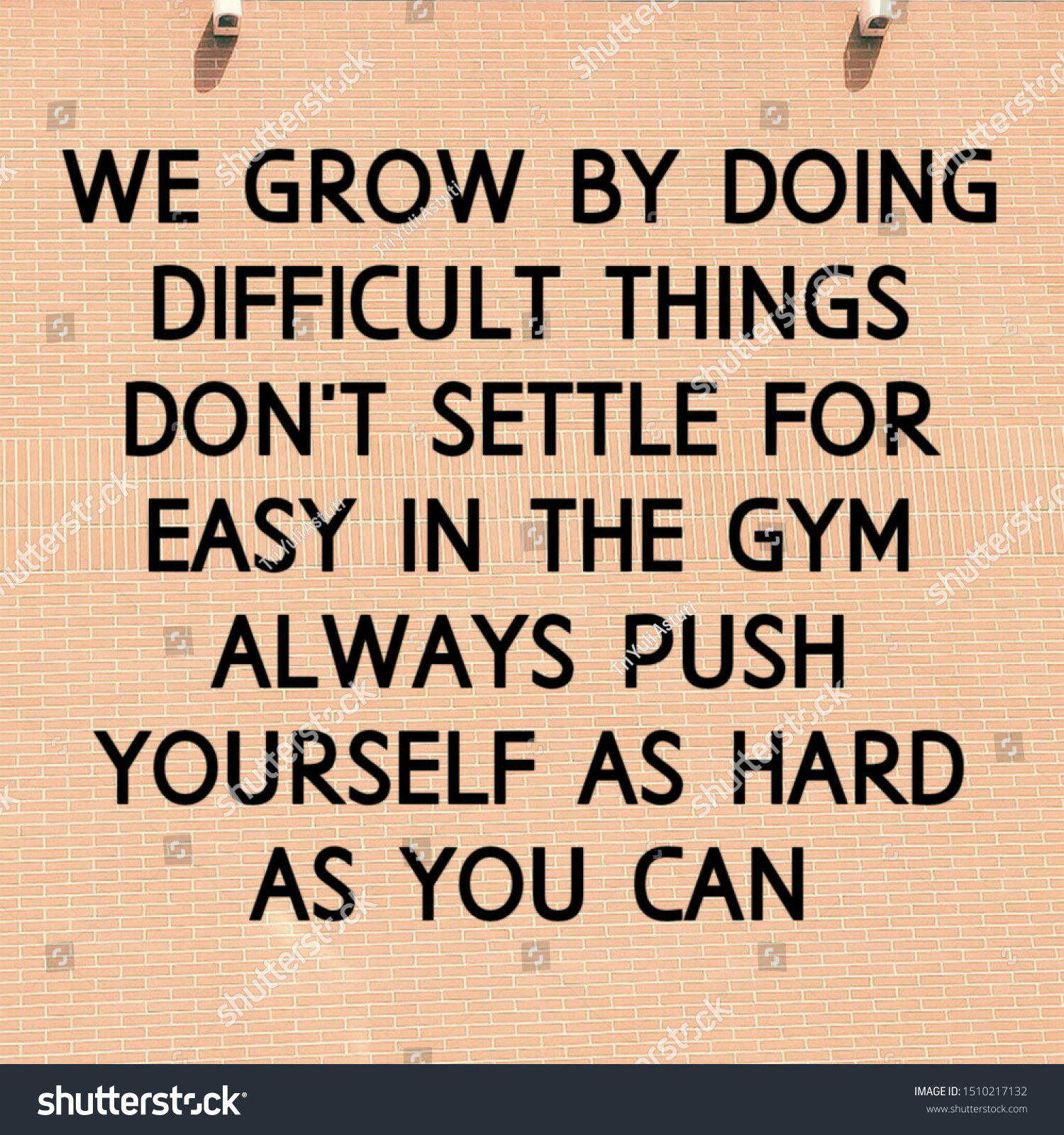 Fitness Quotes Motivate Your Workout Stock Illustration 1510217132