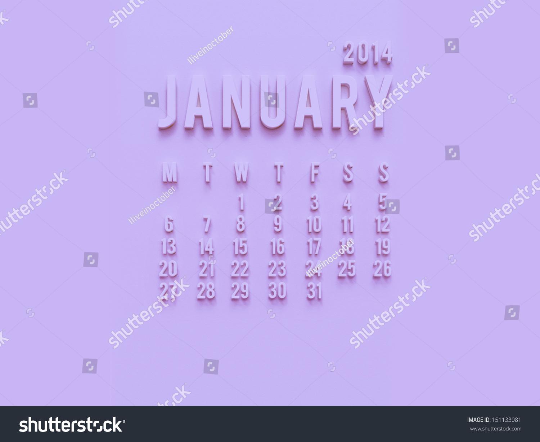 2014 monthly calendar desktop wallpaper - photo #14