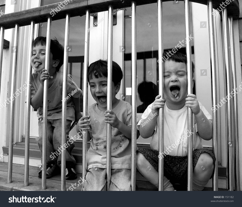 Kids In Jail Stock Photo 151182 : Shutterstock