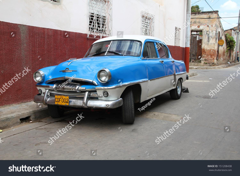 Camaguey February 18 Classic Plymouth Car Stock Photo 151208438 ...