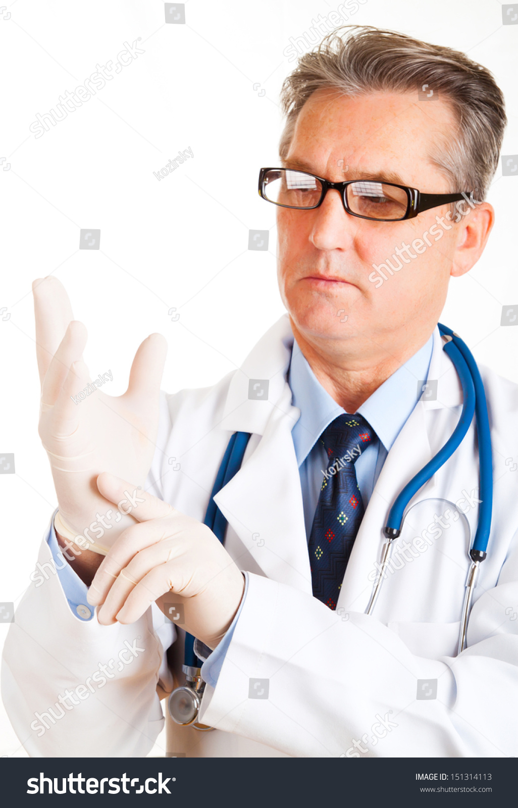 Doc In Gloves Examines Guy Dong