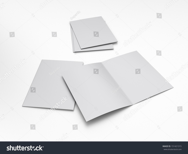 Blank Leaflet Brochure A4 Size Illustration 151421315 – Blank Brochure