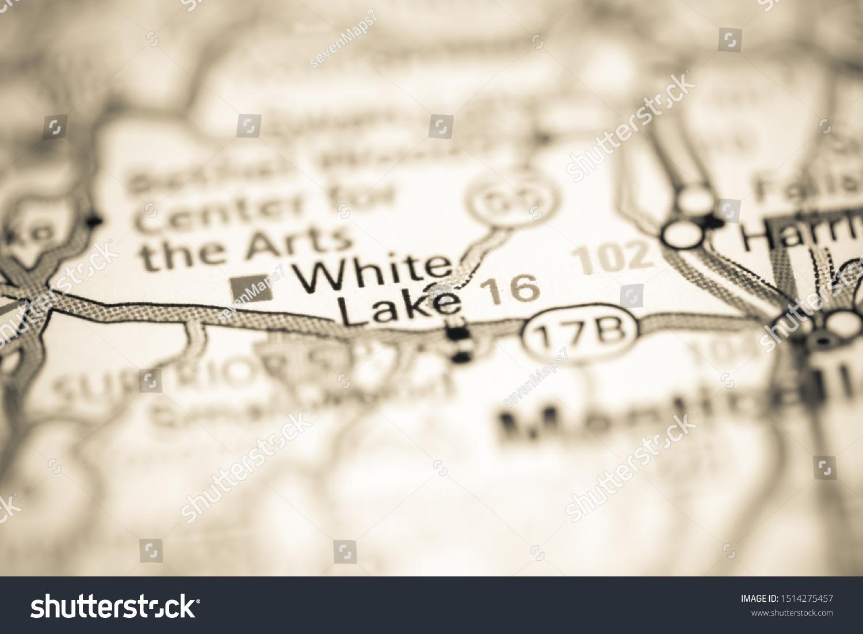white lake ny map White Lake New York Usa On Stock Photo Edit Now 1514275457 white lake ny map