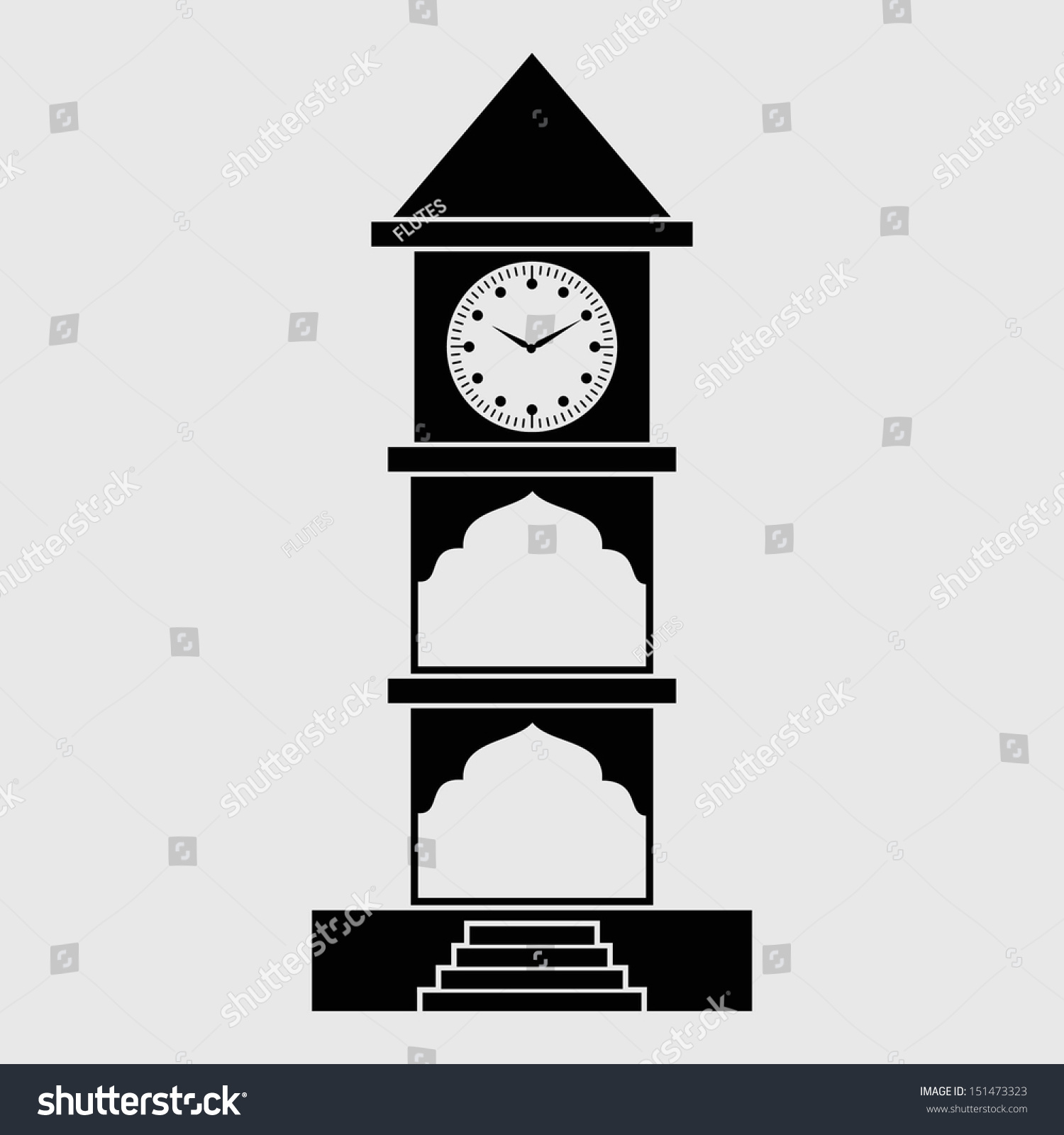 clip art clock tower - photo #18