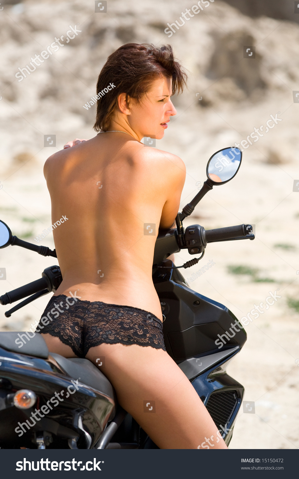 You are Young biker chick naked can